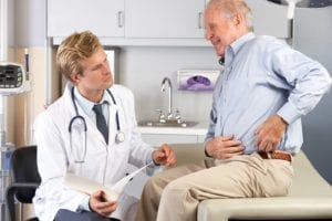 bigstock Doctor Examining Male Patient 41853457 300x200 - How to Prepare for Hip Replacement Surgery