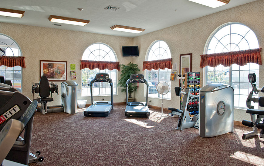 Greenwood Meadows therapies and wellness gym
