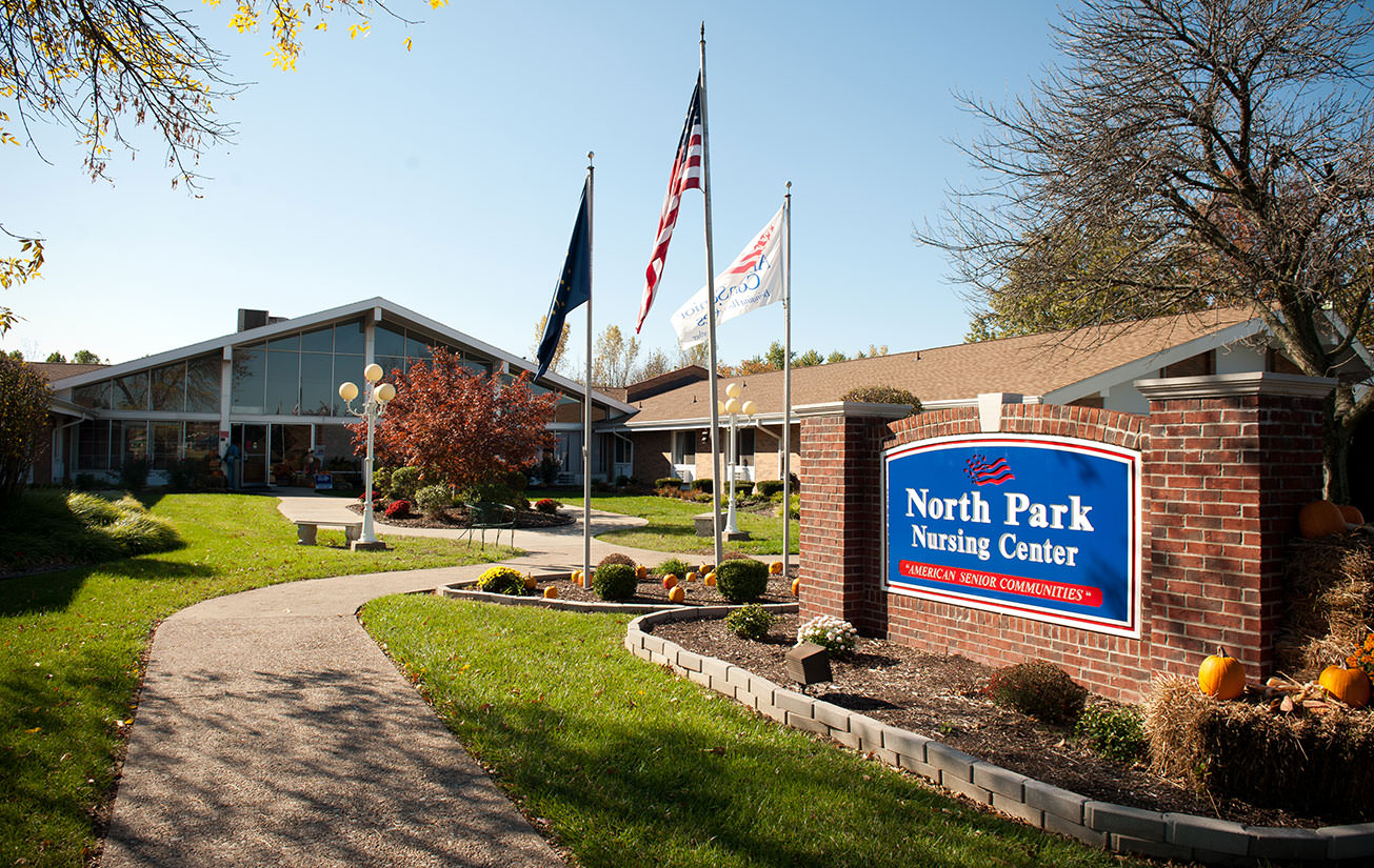 North Park main entrance