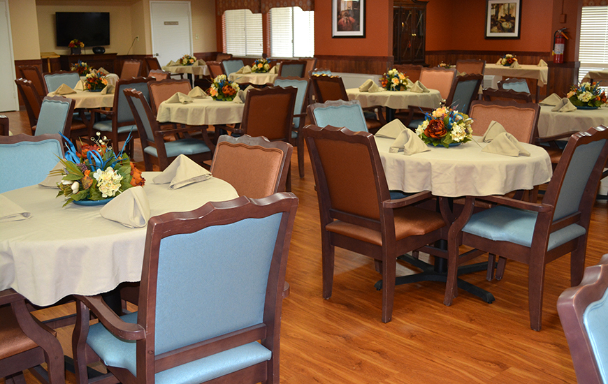 Hillcrest Village dining room