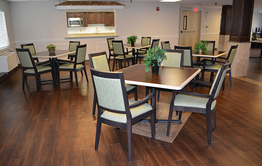 Riverview Village dining room