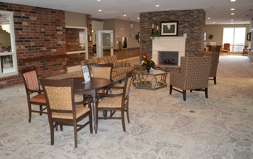 Zionsville Meadows - Assisted Living & Garden Homes Common Area