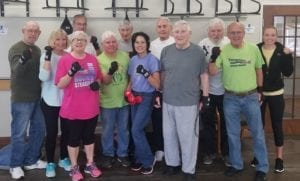 Fighitng Parkinson's with Rock Steady Boxing